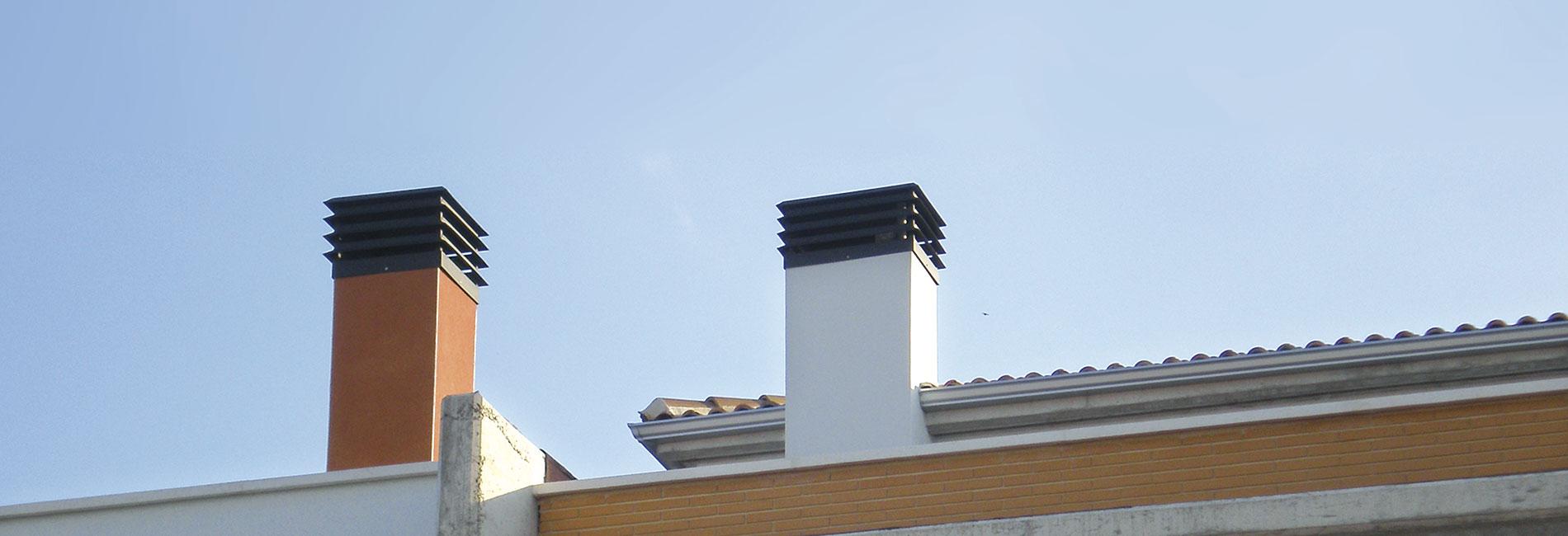 Remates de chimenea fabricados